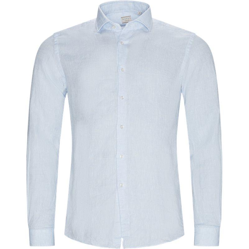 Billede af Xacus Slim 61174 748 Skjorter L Blå